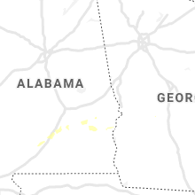 Regional Hail Map for Auburn, AL - Sunday, June 28, 2020