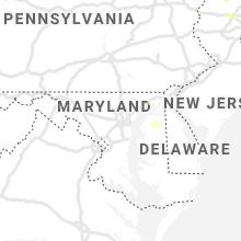 Regional Hail Map for Baltimore, MD - Sunday, June 28, 2020