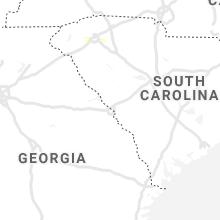 Regional Hail Map for Augusta, GA - Monday, June 29, 2020