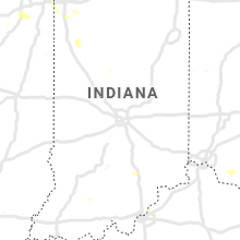 Regional Hail Map for Indianapolis, IN - Monday, June 29, 2020