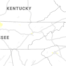 Regional Hail Map for Knoxville, TN - Monday, June 29, 2020