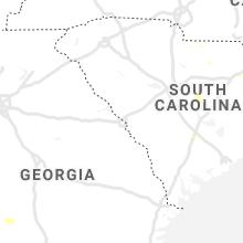Regional Hail Map for Augusta, GA - Tuesday, June 30, 2020