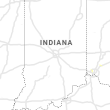 Regional Hail Map for Indianapolis, IN - Tuesday, June 30, 2020