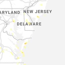 Hail Map for ocean-city-md 2020-07-01