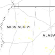 Hail Map for starkville-ms 2020-07-01