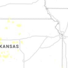 Regional Hail Map for Manhattan, KS - Thursday, July 2, 2020
