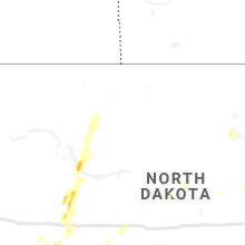Regional Hail Map for Minot, ND - Thursday, July 2, 2020