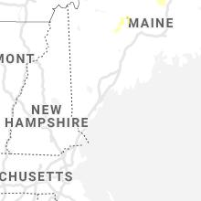 Regional Hail Map for Portland, ME - Thursday, July 2, 2020