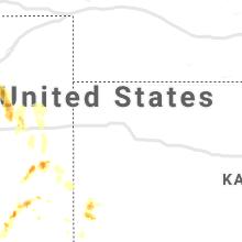 Regional Hail Map for Colby, KS - Friday, July 3, 2020