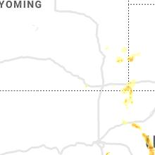 Hail Map for laramie-wy 2020-07-03