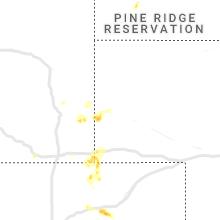Regional Hail Map for Scottsbluff, NE - Friday, July 3, 2020