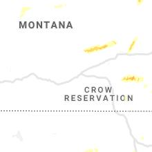 Regional Hail Map for Billings, MT - Saturday, July 4, 2020