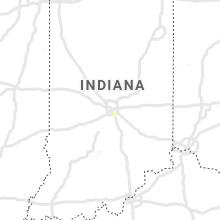 Regional Hail Map for Indianapolis, IN - Saturday, July 4, 2020