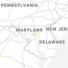 Regional Hail Map for Baltimore, MD - Sunday, July 5, 2020