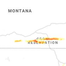 Regional Hail Map for Billings, MT - Sunday, July 5, 2020