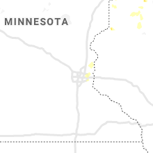 Regional Hail Map for Minneapolis, MN - Sunday, July 5, 2020