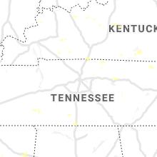 Hail Map for nashville-tn 2020-07-05
