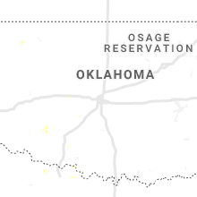 Regional Hail Map for Oklahoma City, OK - Sunday, July 5, 2020