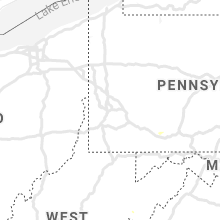 Regional Hail Map for Pittsburgh, PA - Sunday, July 5, 2020