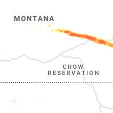 Regional Hail Map for Billings, MT - Monday, July 6, 2020