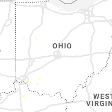 Regional Hail Map for Columbus, OH - Monday, July 6, 2020