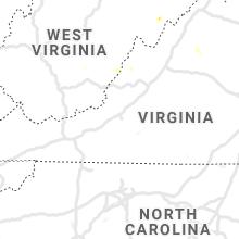 Hail Map for roanoke-va 2020-07-06