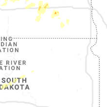 Regional Hail Map for Aberdeen, SD - Tuesday, July 7, 2020