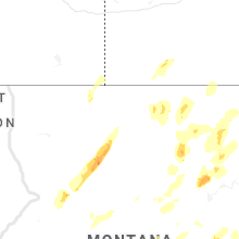 Hail Map for havre-mt 2020-07-07