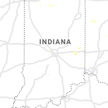 Regional Hail Map for Indianapolis, IN - Tuesday, July 7, 2020