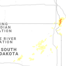 Regional Hail Map for Aberdeen, SD - Wednesday, July 8, 2020