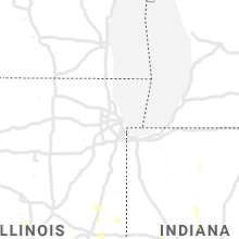 Hail Map for chicago-il 2020-07-08