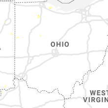 Regional Hail Map for Columbus, OH - Wednesday, July 8, 2020