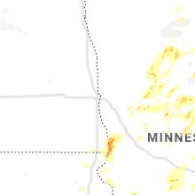 Hail Map for fargo-nd 2020-07-08