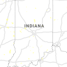 Regional Hail Map for Indianapolis, IN - Wednesday, July 8, 2020