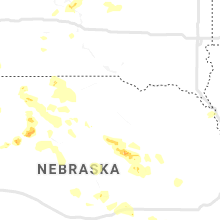 Regional Hail Map for Oneill, NE - Wednesday, July 8, 2020