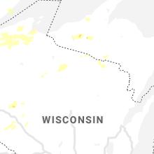 Hail Map for rhinelander-wi 2020-07-08