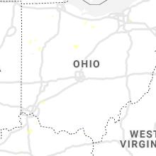 Regional Hail Map for Columbus, OH - Thursday, July 9, 2020