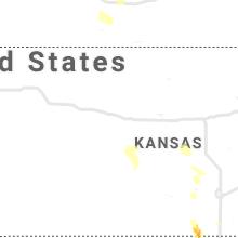 Hail Map for hays-ks 2020-07-09