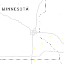 Regional Hail Map for Minneapolis, MN - Thursday, July 9, 2020