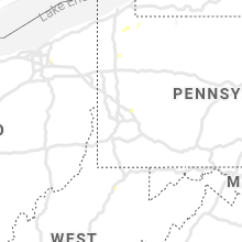 Regional Hail Map for Pittsburgh, PA - Thursday, July 9, 2020