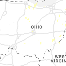 Regional Hail Map for Columbus, OH - Friday, July 10, 2020