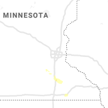 Regional Hail Map for Minneapolis, MN - Friday, July 10, 2020