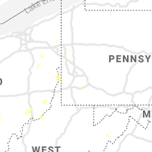 Regional Hail Map for Pittsburgh, PA - Friday, July 10, 2020