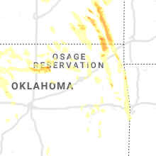 Hail Map for tulsa-ok 2020-07-11