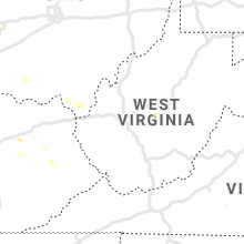 Regional Hail Map for Charleston, WV - Sunday, July 12, 2020