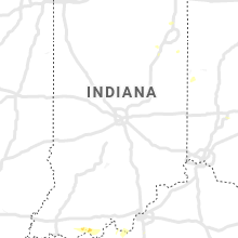 Regional Hail Map for Indianapolis, IN - Sunday, July 12, 2020