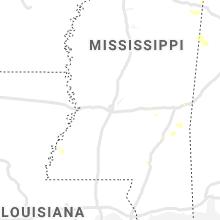 Regional Hail Map for Jackson, MS - Sunday, July 12, 2020