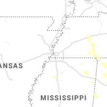 Regional Hail Map for Memphis, TN - Sunday, July 12, 2020
