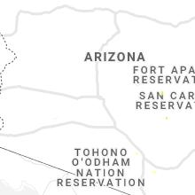 Regional Hail Map for Phoenix, AZ - Sunday, July 12, 2020