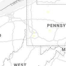 Regional Hail Map for Pittsburgh, PA - Sunday, July 12, 2020